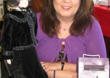 Christine with Violet Harper Doll, July 2014