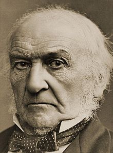 An iconic portrait of Gladstone