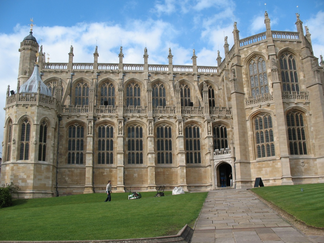 St. George's Chapel, where Prince Albert lay in state