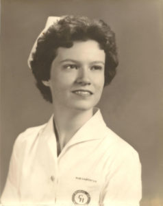 Mom's nursing school graduation photo